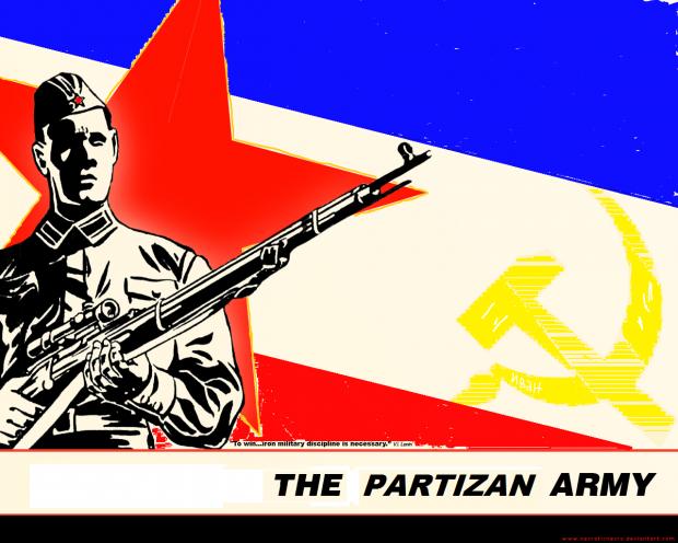 Yugoslav partizan art