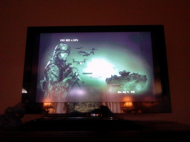 playing arma on my tv :D