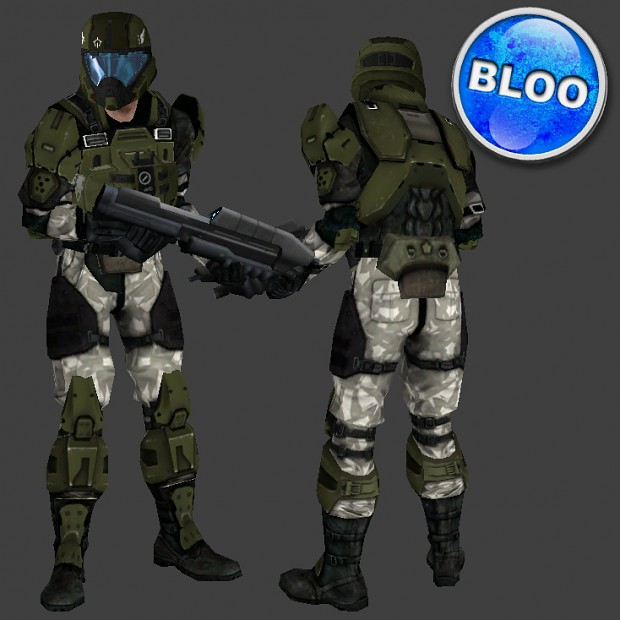 Halo 3 marine pilot image - BlooCobalt - Mod DB