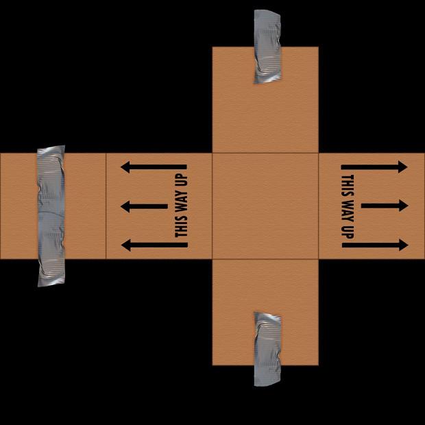 Cardboard Box Image