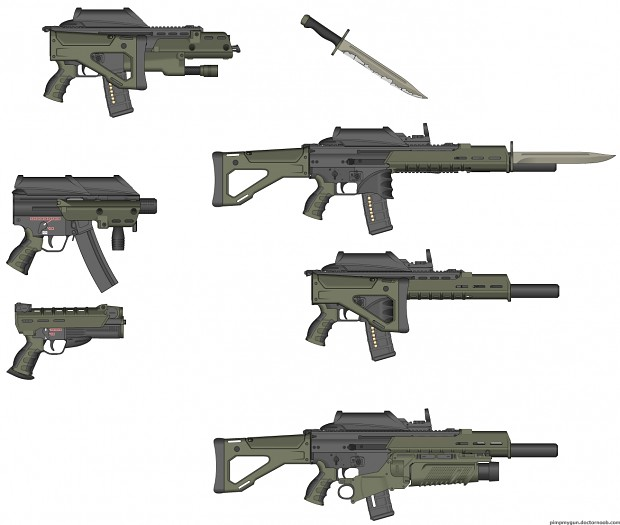 Kevlar's Modular Weapons Systems
