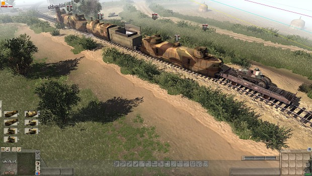 Polish armoured train (Valour mod)