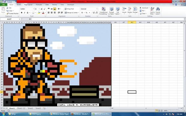Half-Life 1 8-Bit Excel.