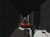 Test Chamber 13 of Portal : in search of cake