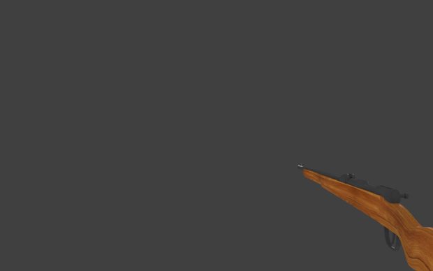 "Weapon Gew 98 for ""La Bataille de Verdun"" wip"