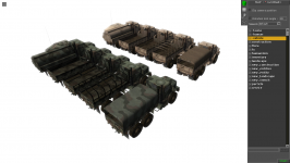 New vehicles HD texture - WIP