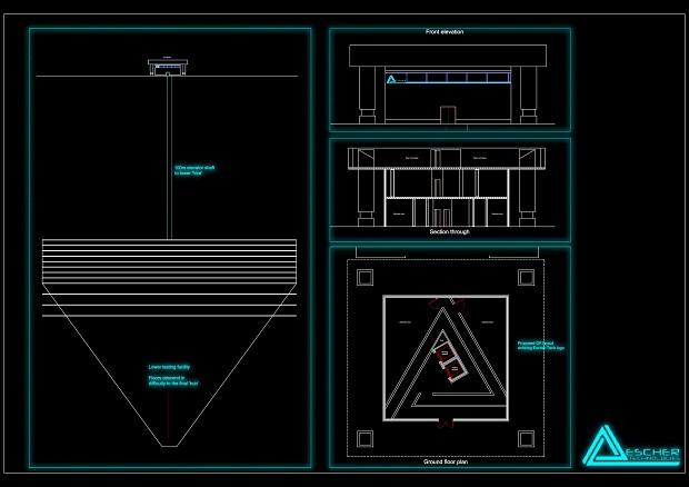 Escher tech architectural