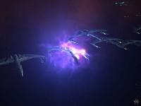 Collapsing Quantum Singularity