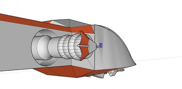 Hapan Nova-Class Battlecruiser