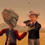 Alien - Pixel Art