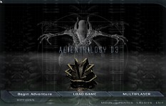 AlienTrilogy D3 Menu