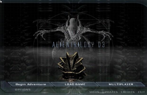 AlienTrilogy D3 Menu