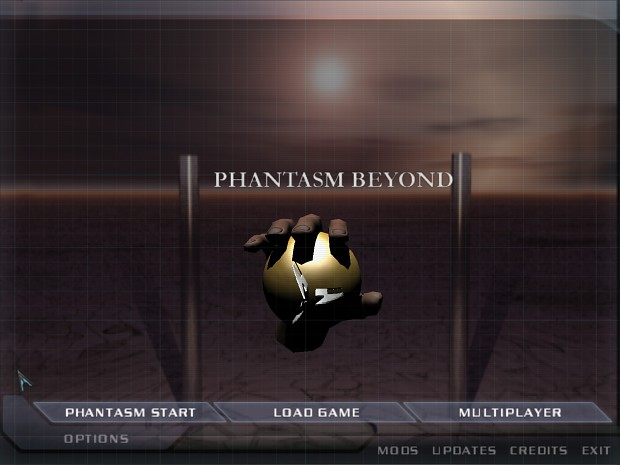 Phantasm Beyond Doom 3 Menu