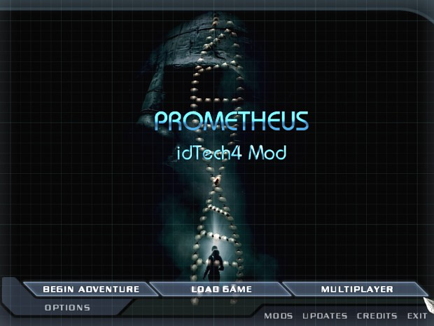 Prometheus Doom 3 Menu