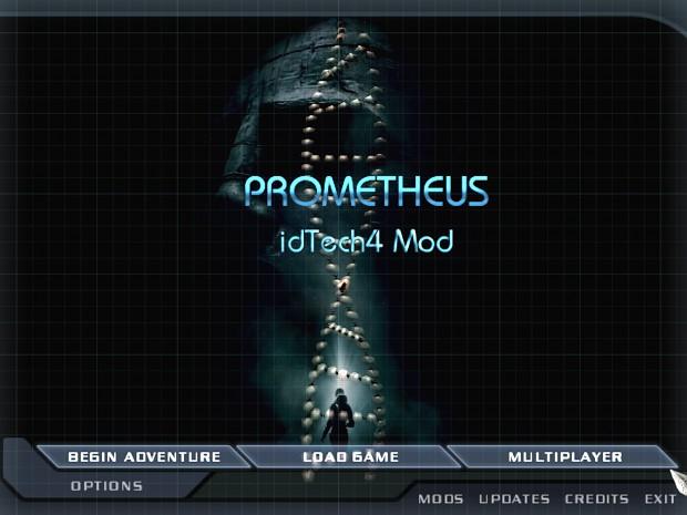Prometheus Doom 3 Menu