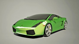 "Lamborghini Gallardo ""Green"" wallpaper"