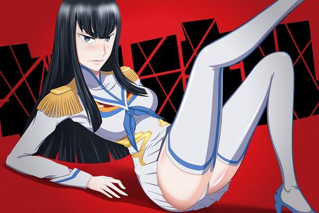 Satsuki Kiryuin Kill la Kill Wallpaper