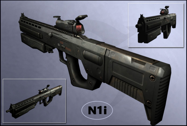 N1i Complete Model and Texture