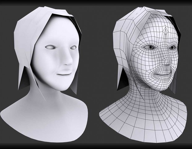 face modeling practice