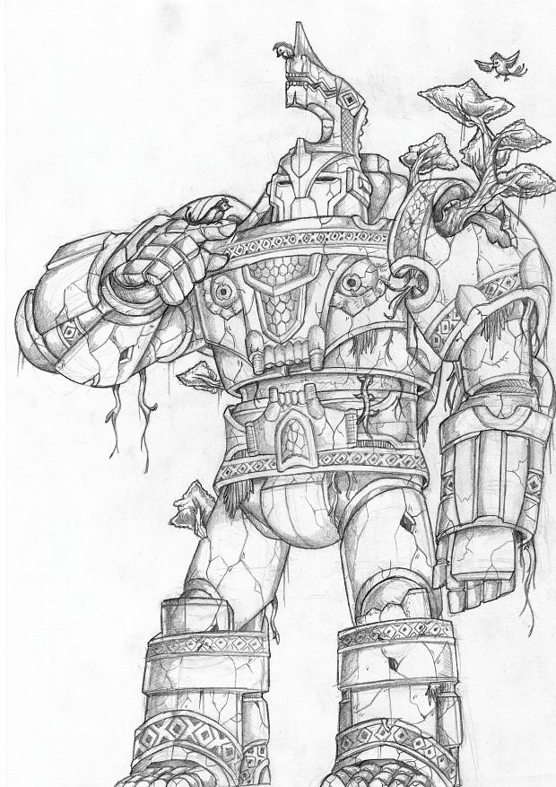 Darumasa, Guardian of the Gate