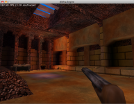 Testing level design in Alithia Engine's editor...