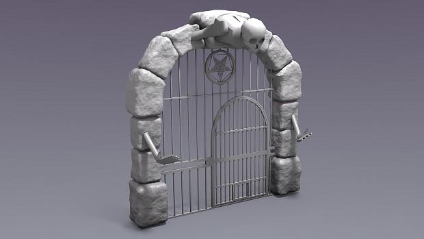 AuraRPG WIP Archway Model