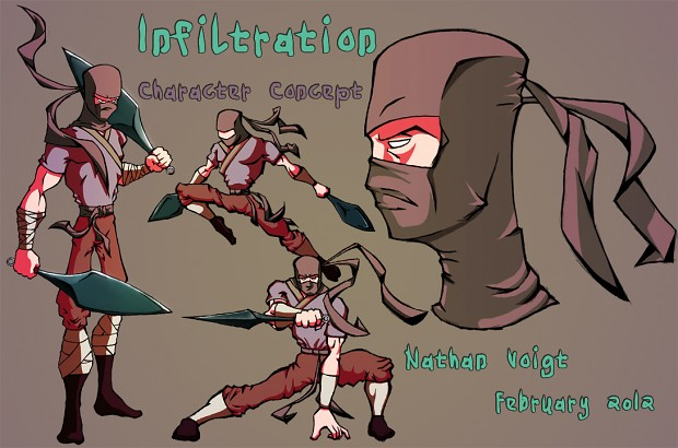 Infiltration - Character Concept