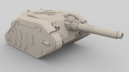 Destroyer tank hunter Render