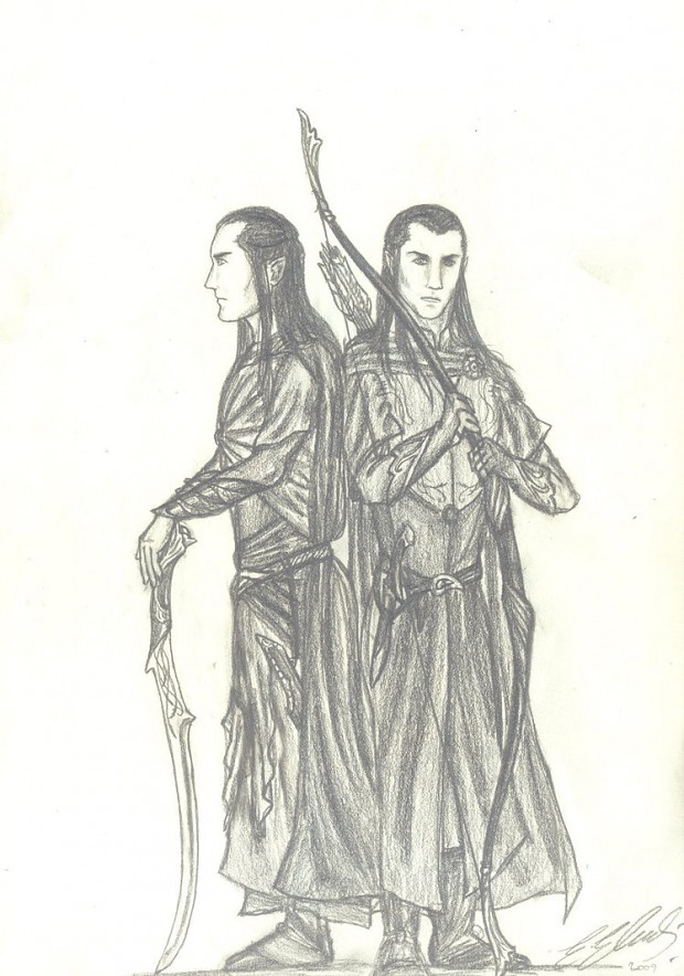 Elven warriors ^^ AGAIN