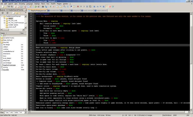 My programming environment
