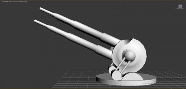 Quad Turbolaser turret