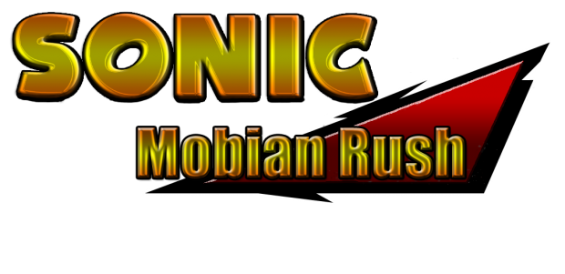 Sonic Mobian Rush Logo