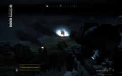 AAA night airstrike