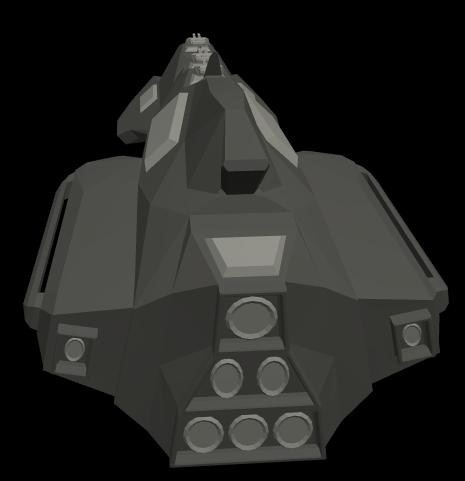 Taiidan destroyer concept