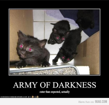 Behold the Army of Darkness!