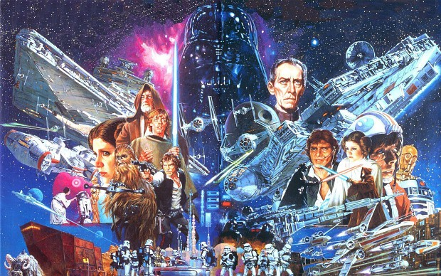Star Wars: Classic Trilogy Popart Collage