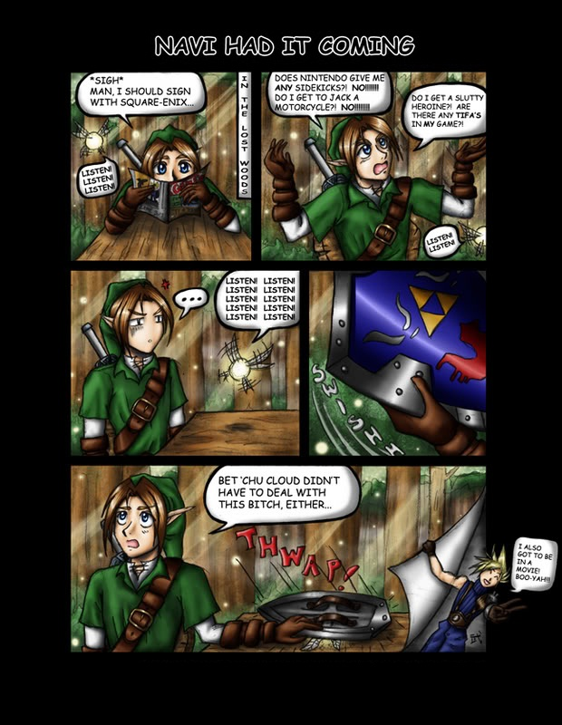 Funny pictures from zelda game's