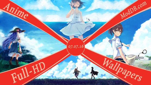 New Anime Wallpapers Confirmed 07.07.16