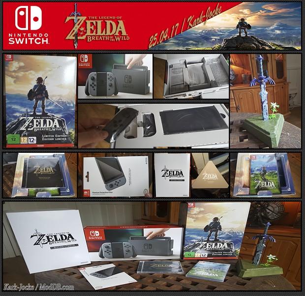 Look what I've got: Nintendo Switch & Zelda Breath of the Wild Limit