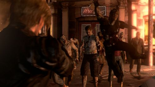 some new images of Resident Evil 6
