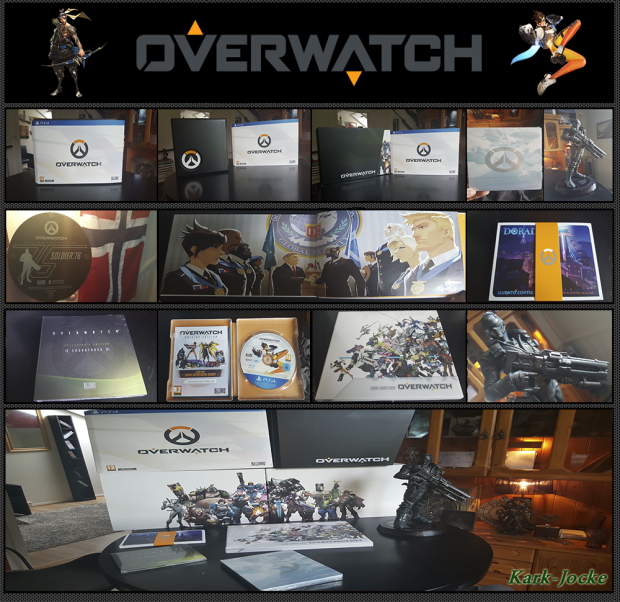 Look what I've got! Overwatch Collector's Edition