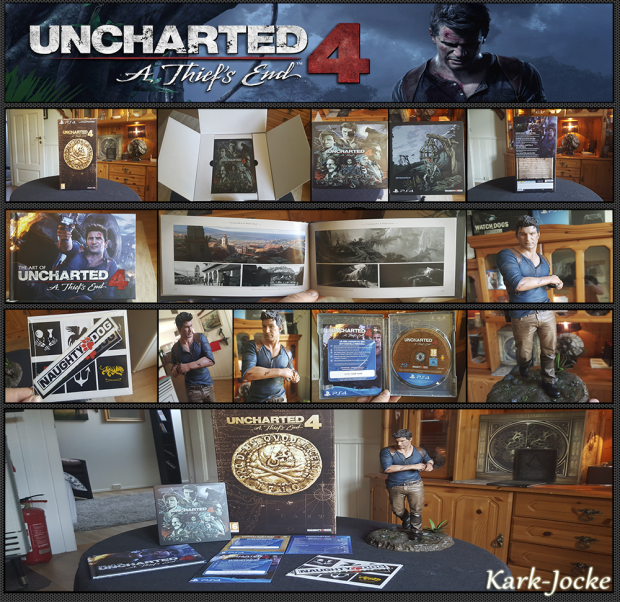 Look what I've got! Uncharted 4 ~ Collector's Edition