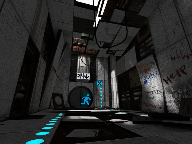 Portal 2 Background Map