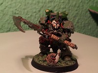 Typhus Herald of Nurgle Painted by me.