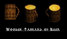 Wooden Tankard of Beer