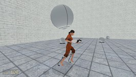 Fun in Portal Multiplayer — Sphere failing