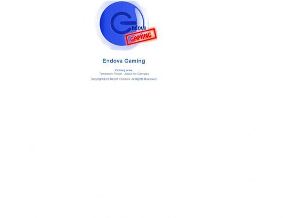 Endova Gaming - Coming Soon