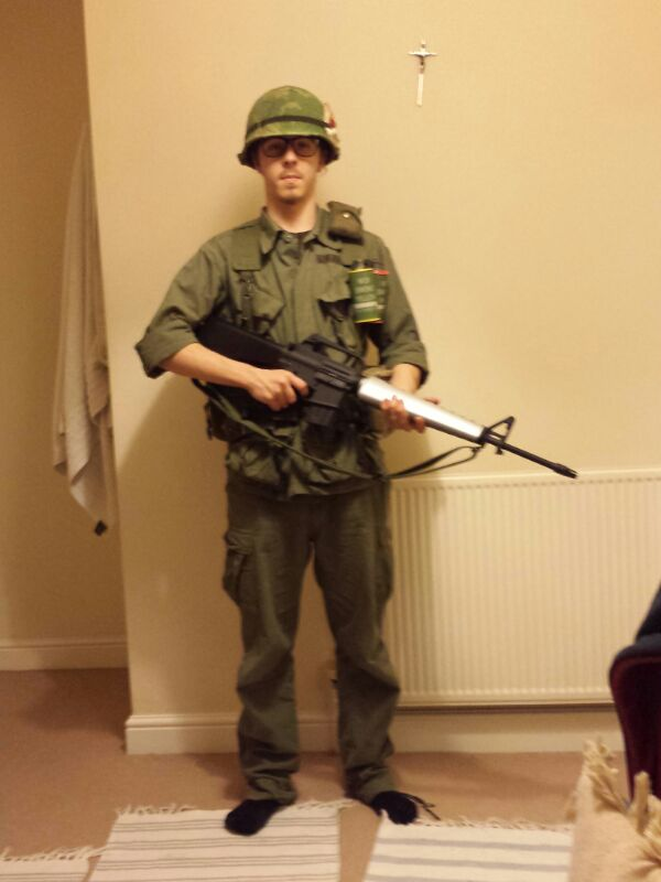 My 25th Infantry Vietnam Impression