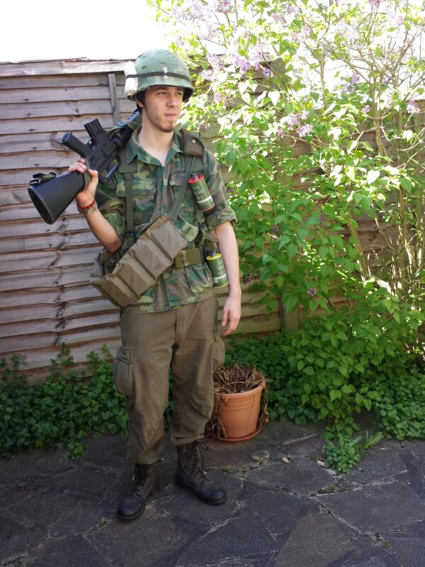 Late war infantry impression