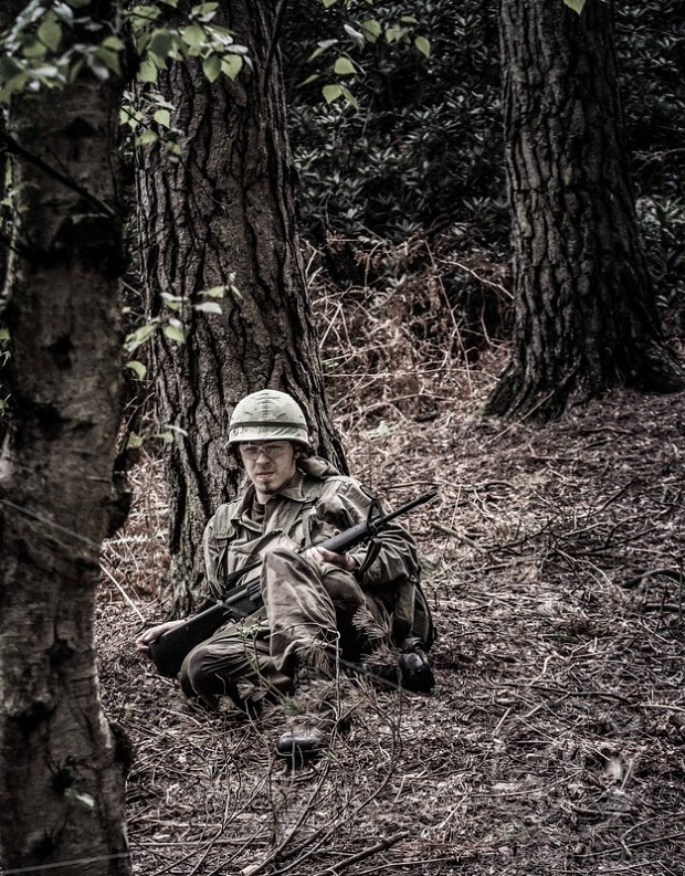 Me during a Vietnam game